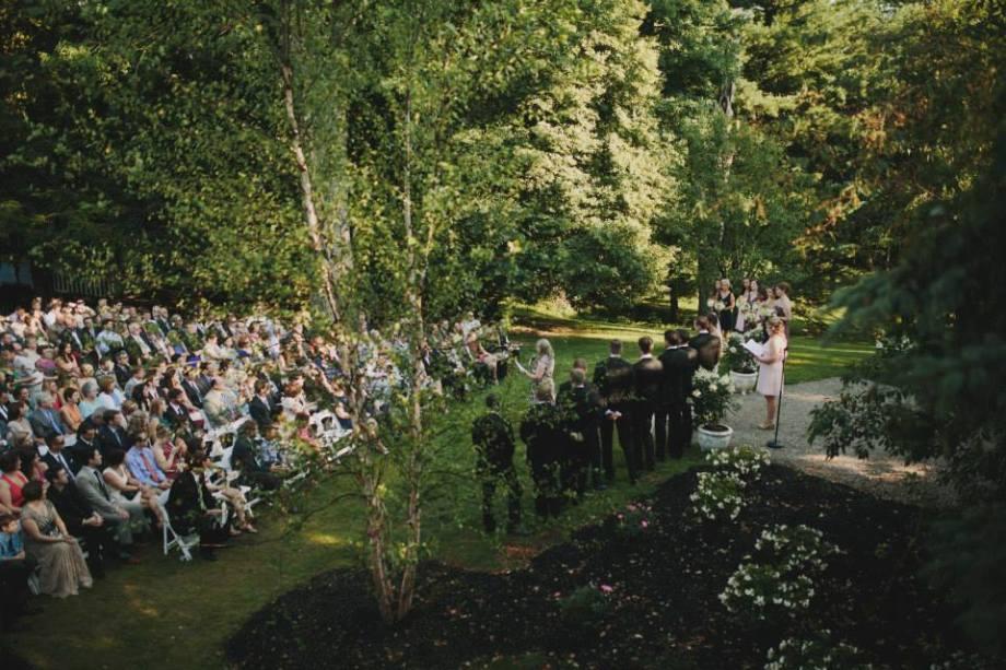 ceremony birdseye view